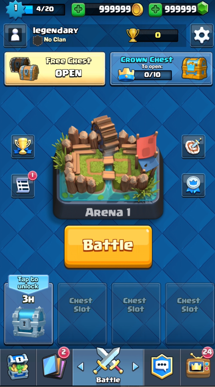 Clash Royale Hack Android - For Free Gems